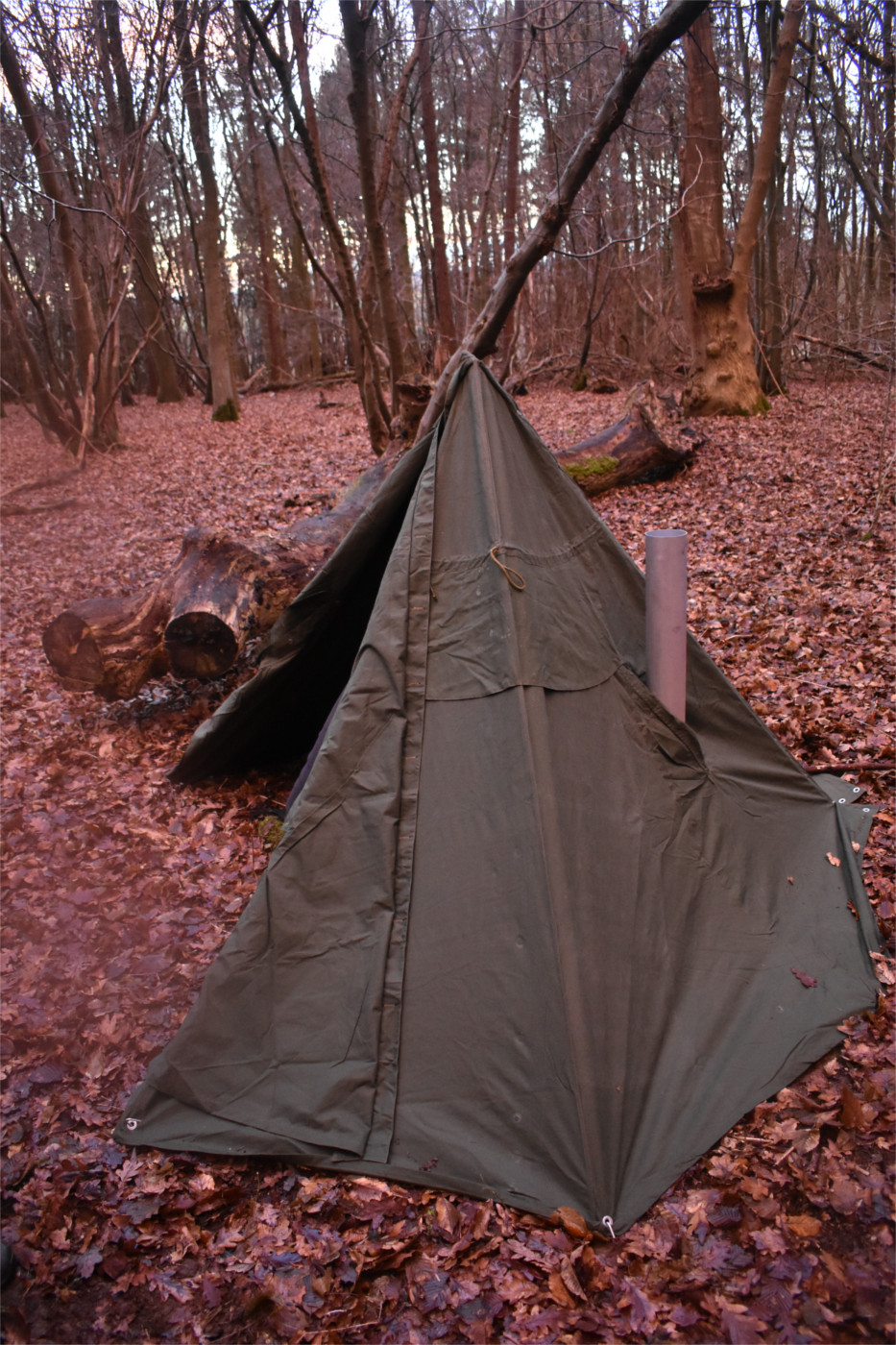 Hot Tent Camping On A Shoestring